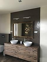 Zrkadlá - Zrkadlo so starého dreva - 8969124_