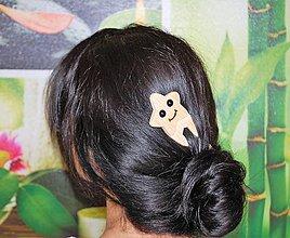 Ozdoby do vlasov - Ihlica do vlasov - Hviezda - 8967777_