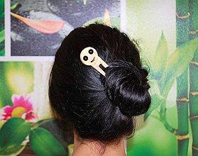 Ozdoby do vlasov - Ihlica do vlasov - Smiley - 8967996_