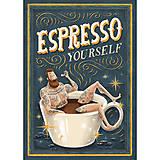 Grafika - Art-Print Espresso Yourself A4 - 8968752_