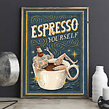 Grafika - Art-Print Espresso Yourself A3 - 8968785_