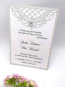 Papiernictvo - svadobné oznámenie 111 - 8968285_