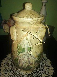 Nádoby - dóza na cesnak - 8969020_