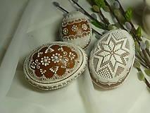 Dekorácie - 3D velkonočné vajíčko veľke - 8969832_