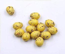 Polotovary - Malé žlté vajíčka - 5 ks - 8969822_
