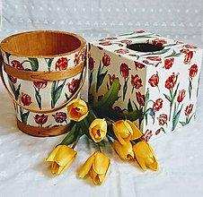 """Krabičky - Sada """"Červené tulipány"""" - 8972346_"""