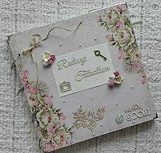 Papiernictvo - MAXI Romantický rodinný fotoalbum