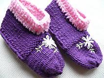 Topánočky - Papuče Ultra Violet - 8969933_