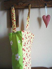 Nákupné tašky - Nákupná taška - 2 motívy žltý a zelený - 8970854_