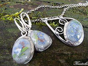 Sady šperkov - Opojenie.....(sklený kabošon) - 8971592_