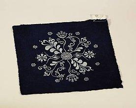 Materiál ručne robený - Plátenko modrotlač folk - 8970355_
