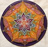 Dekorácie - Mandala energie - 8971744_