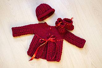 Detské súpravy - Súprava červená čiapočka - 8970405_