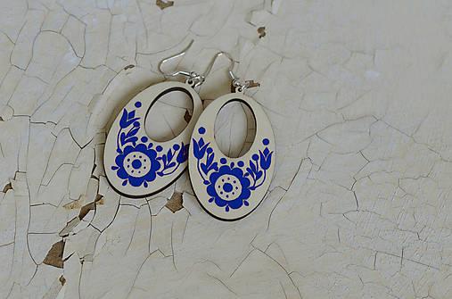 NA DREVE MAĽOVANÉ (Modrá)