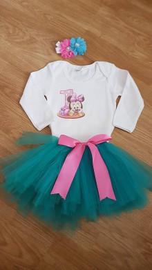 Detské oblečenie - Tutu suknička viazaná - 8974811_