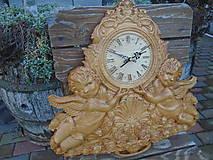 Hodiny - drevorezba hodiny - 8973723_