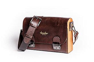 Tašky - Pánska taška - Messenger Bracho Bernard Brown - 8974340_