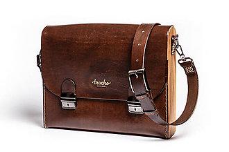 Veľké tašky - Pánska taška - Messenger Bracho David Brown - 8974413_