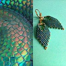 Náušnice - Water Snake - 8973625_