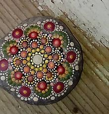 Dekorácie - Gaderský do dlane - Na kameni maľované - 8974783_