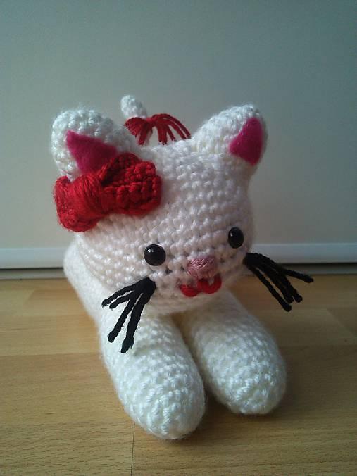 veľký biely mačička com