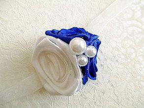 Kytice pre nevestu - svadobné náramky pre družičky - 8975121_