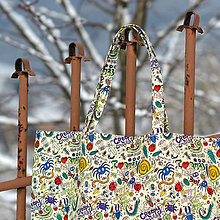 Nákupné tašky - Nákupná taška chrobáčiky - 8974023_