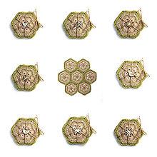 Úžitkový textil - Robím si jar pod hrnčekom - 8976386_
