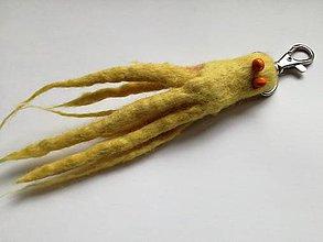 Kľúčenky - Žltá chobotnica - 8976165_