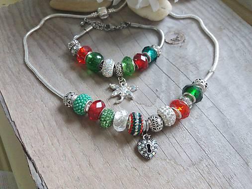 Pandora set Vianočný zľava   Johnny7 - SAShE.sk - Handmade Sady šperkov 98bdb0ae31c