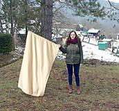 Nezaradené - Vlajka zlatá saténová - 8976341_