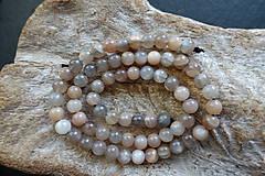 Minerály - Mesačný kameň 6mm - 8976967_