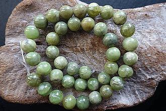 Minerály - Olivín / Peridot 10mm - 8976642_