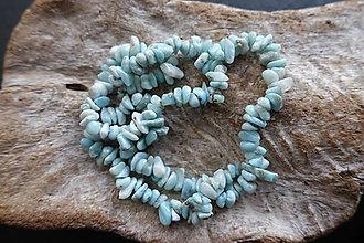 Minerály - Larimar zlomky - 8976660_