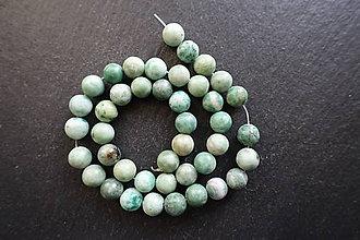 Minerály - Jadeit zelený III 8mm - 8976911_