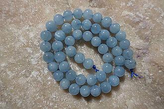 Minerály - Akvamarín AA 8mm - 8977832_