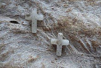 Minerály - Achát krížik - 8977952_