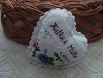 Darčeky pre svadobčanov - Svadobné srdiečko - 8975796_