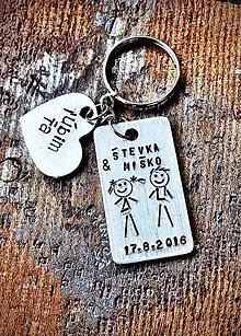 Kľúčenky - TY&Ja ... ľúbim Ťa - 8980000_