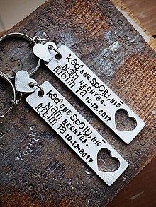 Kľúčenky - Keď sme SPOLU, nič NÁM NECHÝBA  7,00€ ks - 8980001_