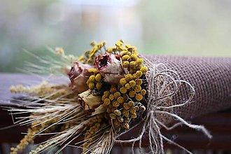 Dekorácie - Kvetinový kornútok - 8978250_