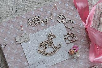 Papiernictvo - fotoalbum pre malé dievčatko - 8979768_