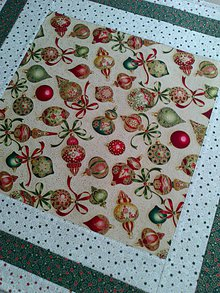 Úžitkový textil - *Vianočný* obrus - 8978883_