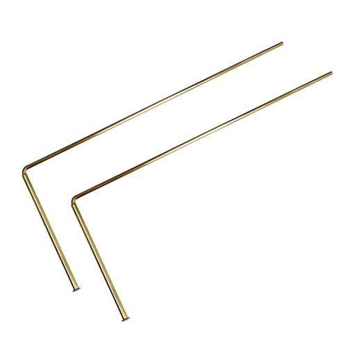 Virguľa s mosadznou rúčkou 33 cm/4mm
