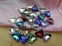 Komponenty - Sklenený kabošon trojuholník - zľava - 8979003_