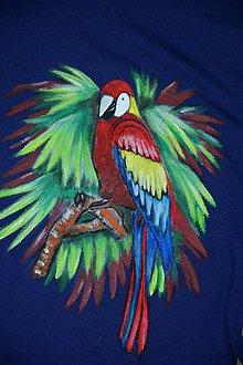 Detské oblečenie - Farebný papagáj - 8982698_