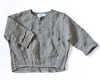 Detské oblečenie - Tunika HUGO pásiková - 8983946_