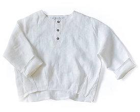 Detské oblečenie - Tunika HUGO biela - 8983826_