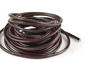 Suroviny - Guľatá koža 2mm - 8980836_
