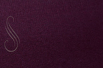 Textil - Supersuede/alcantara baklažánová /1ks - 8983214_
